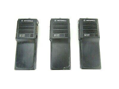Lot Of 3 Motorola Mts 2000 H01ucd6pw1bn Two Way Radios