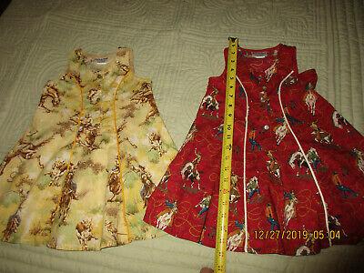Cowgirl Dresses For Little Girls (Little Girl's Western Cowgirl sundress's sz. 4