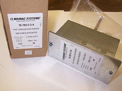 New Mamac Systems Te 703 C 3 A Pipe Temperature Sensor