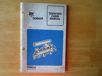 Bobcat Trencher Chain Manual