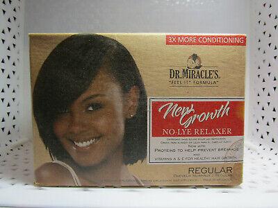Dr Miracles NEW GROWN RELAXER Regular NO LYE (049) r8