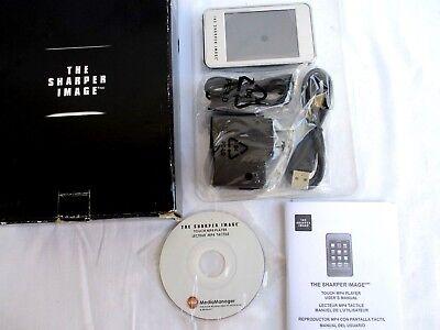 THE SHARPER IMAGE..TOUCH MP4 PLAYER..F3428971..COMPLETE..NEW IN BOX comprar usado  Enviando para Brazil
