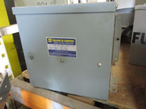 SQUARE D PFC4010, 10 KVAR 480 VOLT POWER FACTOR CAPACITOR