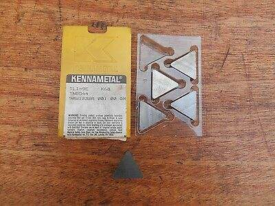 Kennametal TNG544 K68 carbide inserts (5)