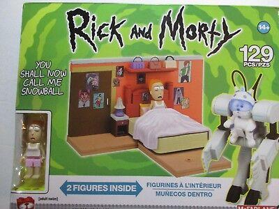 McFarlane Toys-- Rick and Morty Set-- You Shall Now Call Me Snowball---NEW