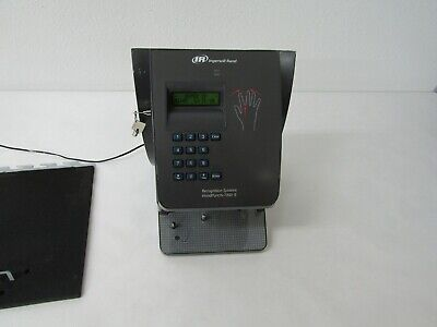 Ingersoll Rand Hand Punch 1000e Biometric Hand Recognition Time Clock Ethernet