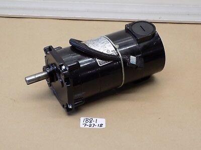 Used Pulloff Bodine Gear Motor 32a3bepm-z2 130v 112hp 181 Ratio  139 Rpm