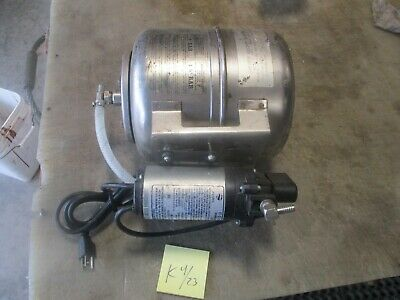 Used Shurflo Water Booster System Pn 804-023 Pump Works Soda Fountain Part
