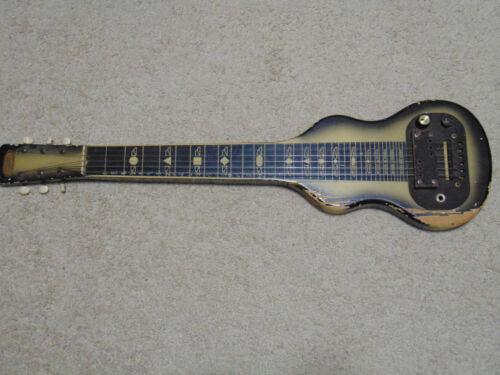 SUPRO Lap Steel Guitar Vintage working pickup Kluson tuners ? fair condition