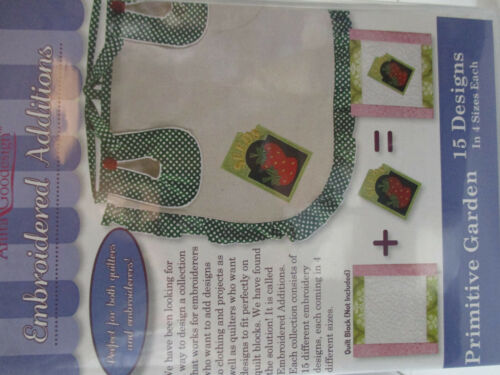 PRIMITIVE GARDEN from Embroidered Additions