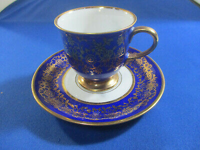 Antique Demitasse Cup and Saucer Eschenbach Bavaria -