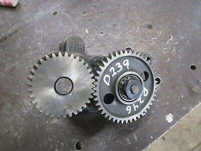 International D246 D239 Engine Oil Pump Hydro 84 574 674 784 Tractor
