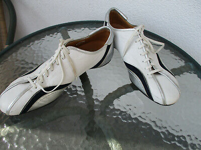 VERSACE  LEATHER LACE-UP  SNEAKERS SHOES size 42,5
