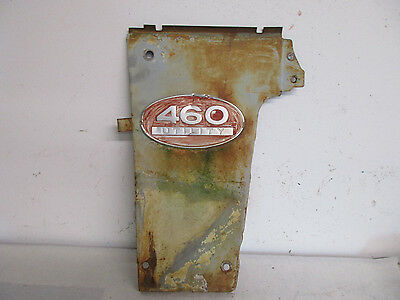 International 460 Tractor Original Left Side Grille Panel