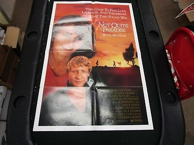One Sheet Movie Poster Not Quite Paradise 1986 Joanna Pacula Sam Robards