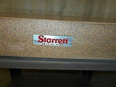 Starrett Crystal Pink Granite Table Good Condition Used