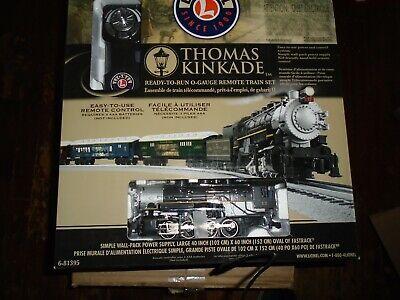 Lionel #81395 Thomas Kinkade Christmas Train Set with Sounds & Remote Control