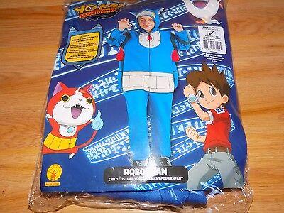's Yo-Kai Watch Robonyan Halloween Costume Jumpsuit New (Watch Halloween 4)