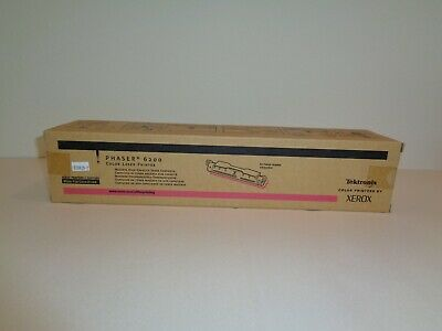 Tektronix Phaser 6200 Color Laser Printer New Magenta Toner Cartridge 016200600 for sale  Shipping to India