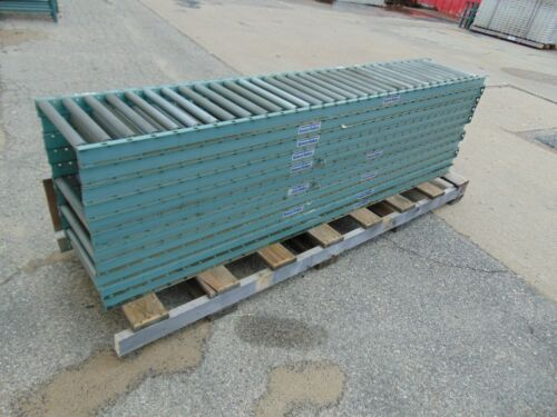 11 Sections of Interlake Gravity Roller Conveyor