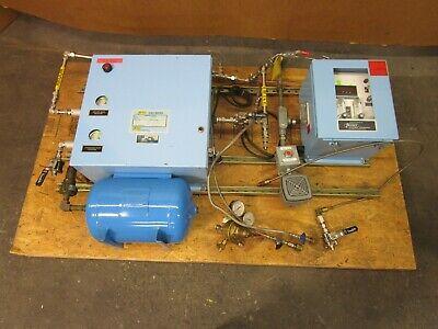 1998 Yr. Thermco 8520ha5pn1100 7010ha10dap1eh Hydrogen Argon Gas Mixing System