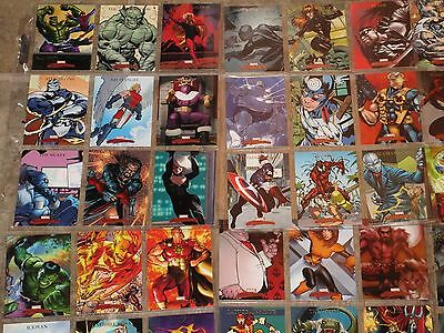 Marvel Masterpieces - All 3 Upper Deck 90 Card Sets 2007, 2008 set 2 and 3