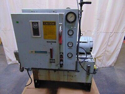 Sheffield Super-Jet Wheel Cleaner Hydraulic Pump Unit 10 HP 30 Gallon