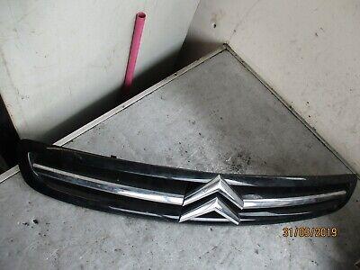 CITROEN SAXO 2004 FRONT BUMPER GRILL GRILLE & BADGE EMBLEM BLACK 9650059377