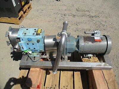 Unimount 125 Motor With A Speed Reducer F025b 3hp 3ph 3460 Rpm 60hzdeal