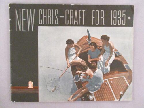 Chris-Craft Boat CATALOG - 1935