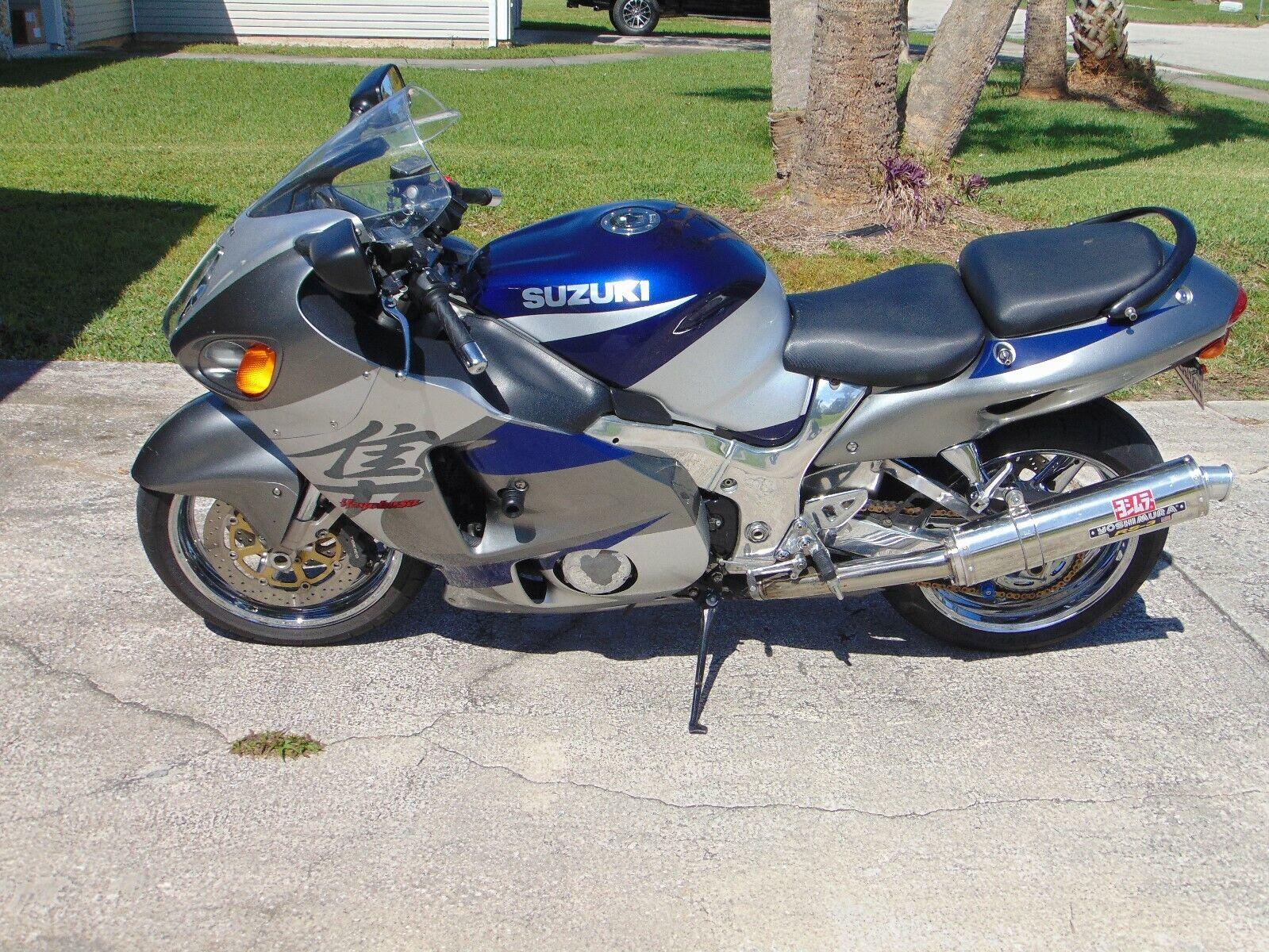 Very nice 2002 Hayabusa w very low miles, ready to ride!!