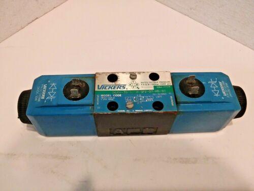 Vickers DG4V-3S-6C-M-SP2-D7-H5-60 Hydraulic Directional Control Valve 24VDC
