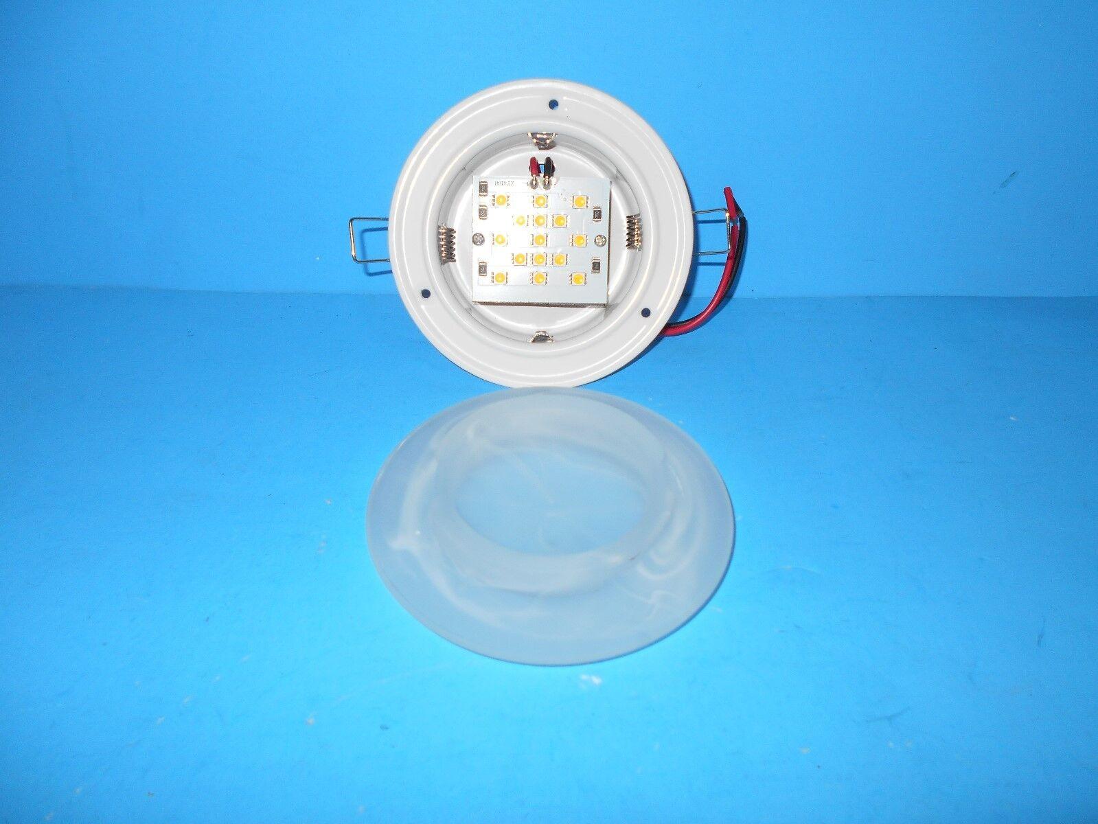 12 Volt Recessed 4 3 4 Led Interior Ceiling Mount Light Rv Picclick