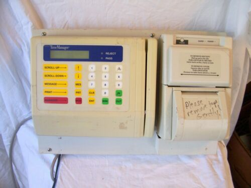 Matsushita Panaentry ZE-5000ZCG00 - Time Clock w/ Printer
