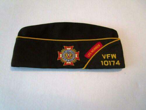 Veterans of Foreign Wars Vintage VFW 10174 Hat Cap Florida Quartermaster Life