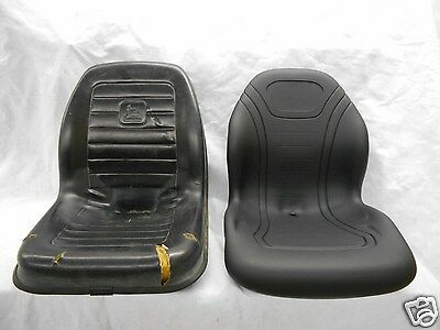 Black Seat 240250260280313315317325328332 John Deere Skid Steer Bb