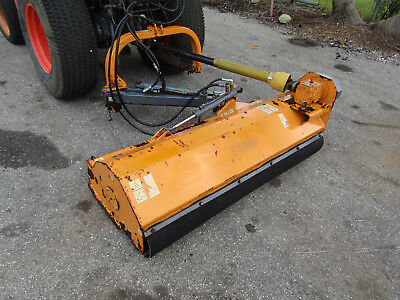 Ferri Offset Slope Flail Mower Zm 15loa Tractor Pto Driven 3 Pt Hitch