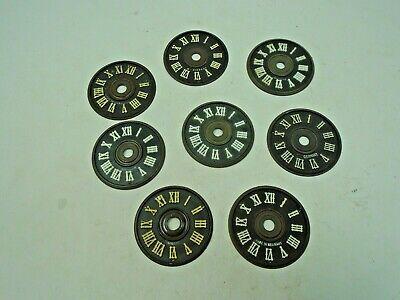 8 Plastic Dials for Cuckoo Clocks 2 4/16