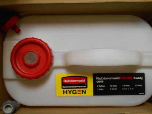 2 Gallon Rubbermaid Hygen Pulse Caddy Q966