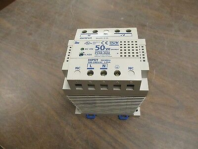 Idec 50w Power Supply Ps5r-d24 Input 100-240vac 1.15a Output 24vdc 2.1a Used