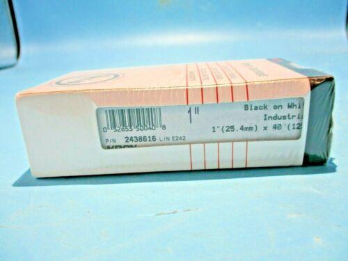 "NEW KROY SUPPLY CARTRIDGE 2438616 1""X40"