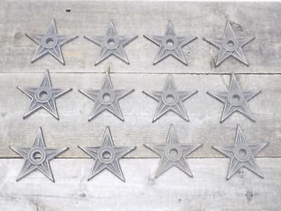 12 Cast Iron Stars Washer Texas Lone Star Ranch 3 7/8