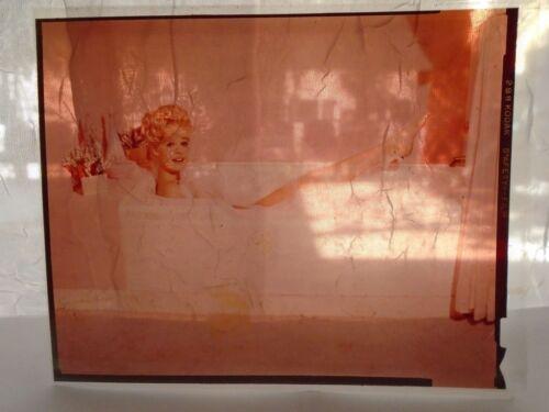 SANDRA DEE GLAMOUR PORTRAIT 3 color TRANSPARENCY/SLIDE ORIGINAL movie photo