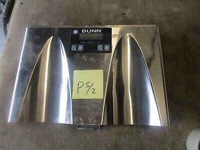 Used Front Push Panel Assy For Ultra 2 Bunn-o-matic Frozen Drink Machine