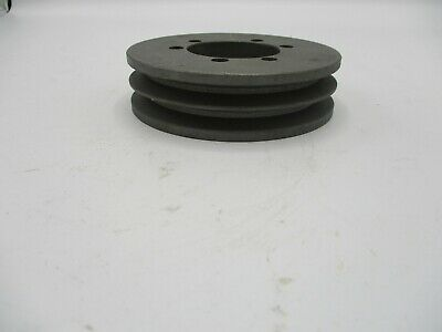 New 3v4 12 2 Sh Sheave Pulley 1 1316 Bore