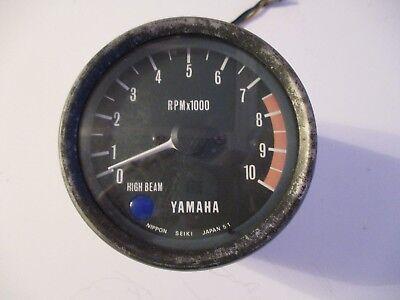 <em>YAMAHA</em>  XS 750  C  D   TACHOMETER  REV COUNTER  CASE 1977   78