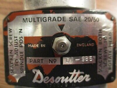 Desoutter Afdm-25 Pnuematic Dual Spindle Drills