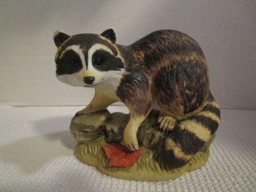 "Lefton China Hand Painted Raccoon 4"" Figurine Vintage #KW2664"