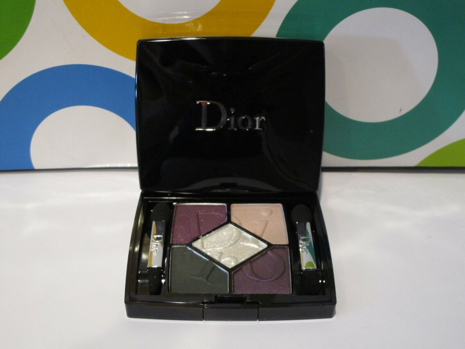 CHRISTIAN DIOR ~ 5 COULEURS COSMOPOLITE SHADOW PALETTE ~ # 8