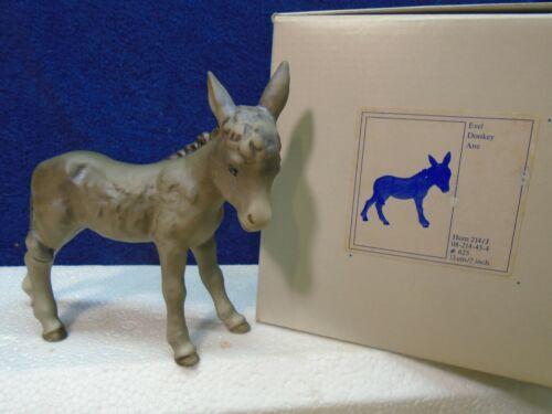 Hummel - nativity Donkey #214/J, mint in box